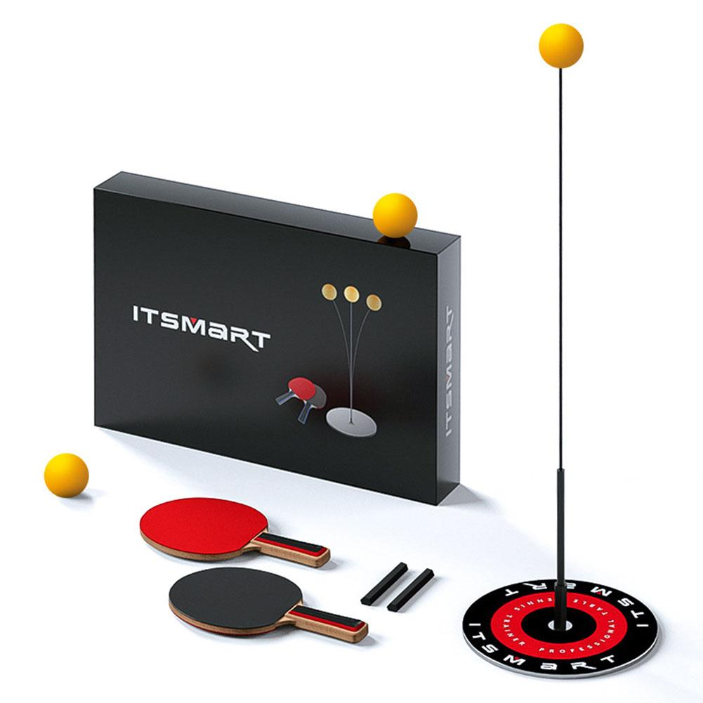 Table Tennis Trainer Tool With Elastic Soft Shaft Sports Set Indoor Outdoor Exercise Accessory Ping Pong Ball Machine Training