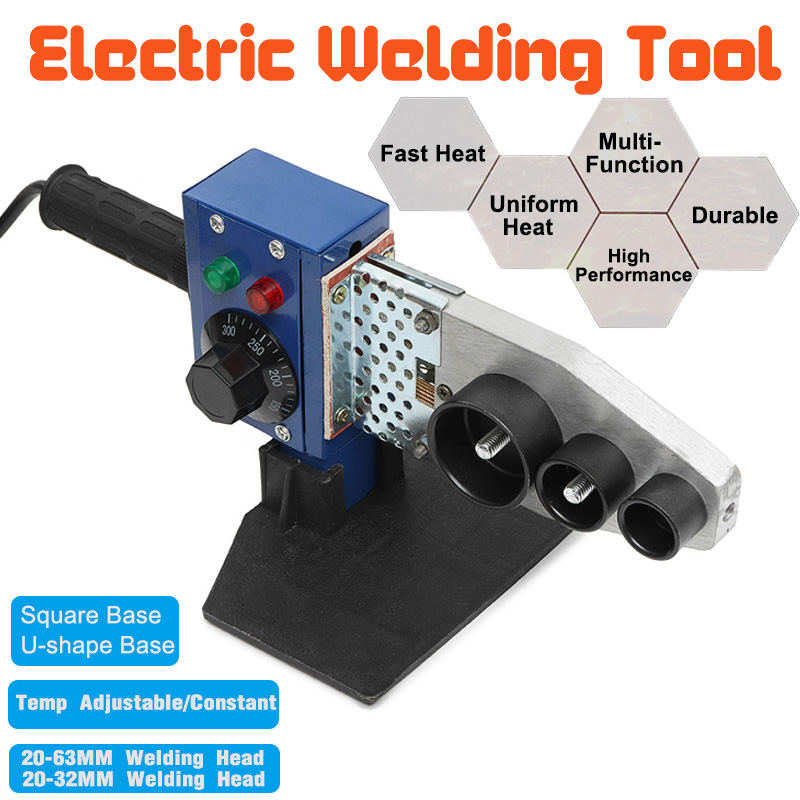 Professional 800W 1000W 220V Automatic Electric Heating Tube Welding Machine PPR PE PP Pipe Welding For Plastic Pipes