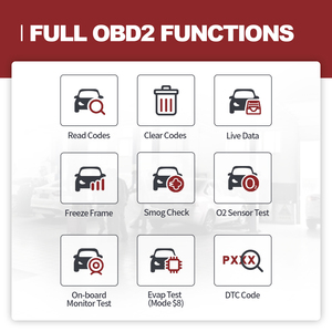 Image 3 - THINKCAR 1S OBD2 Scanner Code Reader Car Full System Diagnostic Tool Full OBDII Functions Automotivo DTCs Lookup Print Report