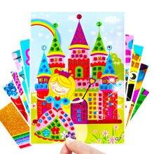 5 шт поделки детские игрушки Алмазная наклейка пазл детский