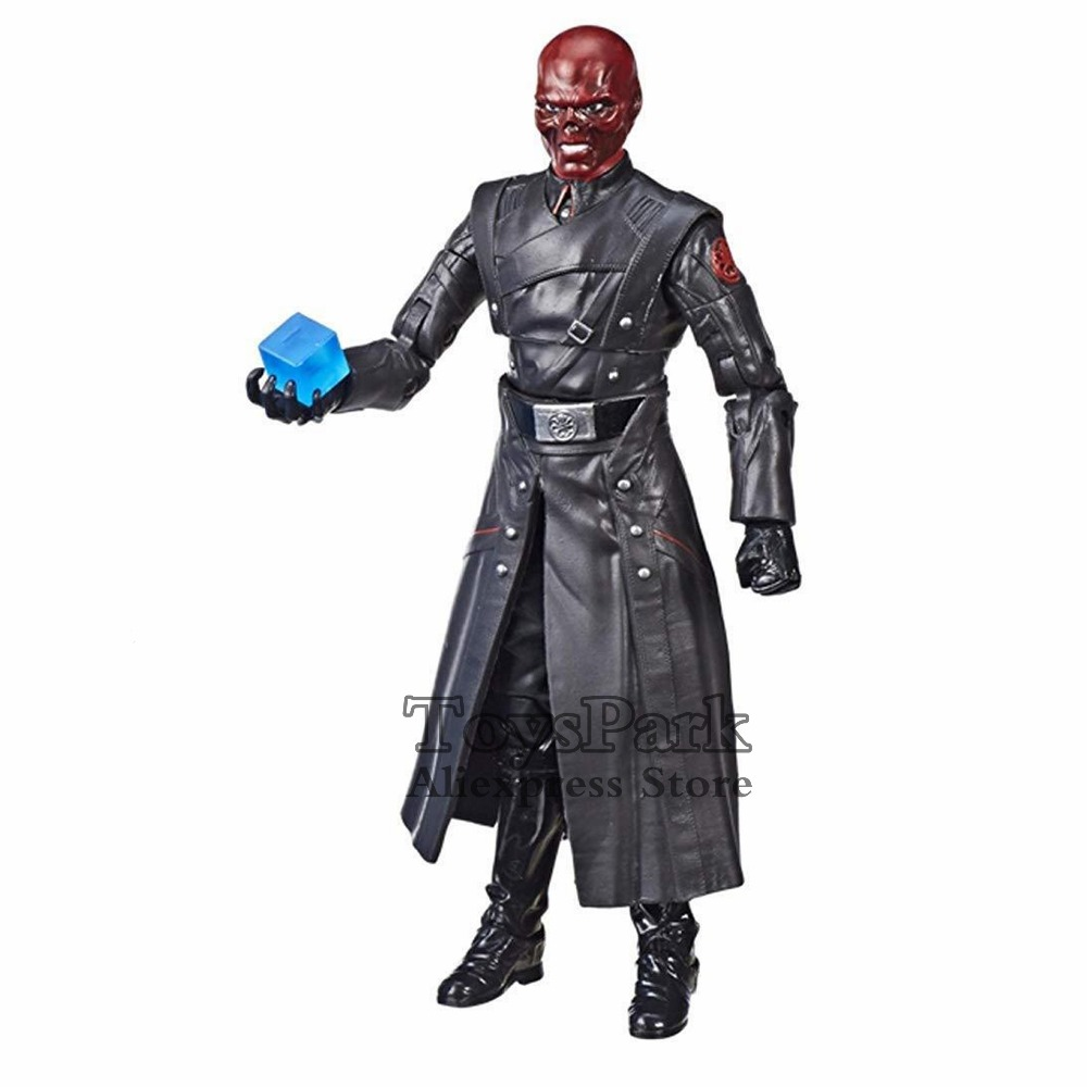 SDCC 2018 Exclusive Marvel Legends Red Skull /& Tesseract