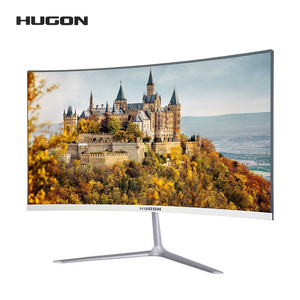 HUGON 23.8 Inch 1920×1080P Curved Screen Monitor 60/75Hz HD Gaming 24/27