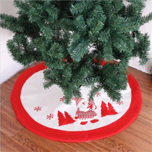 Christmas Tree Skirt Christmas Decorations High-end Embroidery Christmas Supplies