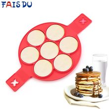 Pancake Maker Nonstick Cooking Tool Egg Ring Circular Silicon Mold Pan Omelette Kitchen Accessories