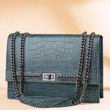 Designer Genuine Leather Bags 100% New 2021 Cow Leather Woman Shoulder Bags Fashion Handbags Ladies bolsa Black Luxury Purses