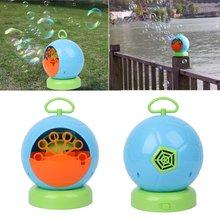Автоматическая пузырьковая машина воздуходувка для детей дома