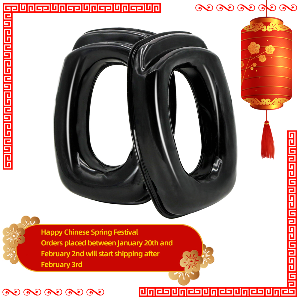 Sightlines Gel Ear Pads For Howard Leight Impact Tactical Headset Electronic Shooting Silicone Earmuffs