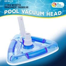 AA плавательный бассейн очиститель% 2C щетка головка% 2C ингаляционный мешок вода спа шланг соединение защитный прозрачный очиститель