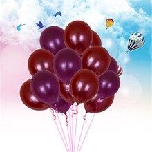 10 шт воздушные шары на день рождения 12 дюймов 2,8 г латексные гелиевые шары утолщение жемчужные вечерние шары Детские игрушки шарики для свадьбы