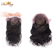 Lace Frontal Human Hair Wigs Silk Top 13*4 Peruvian Body Wave Non Remy 10-26Inches