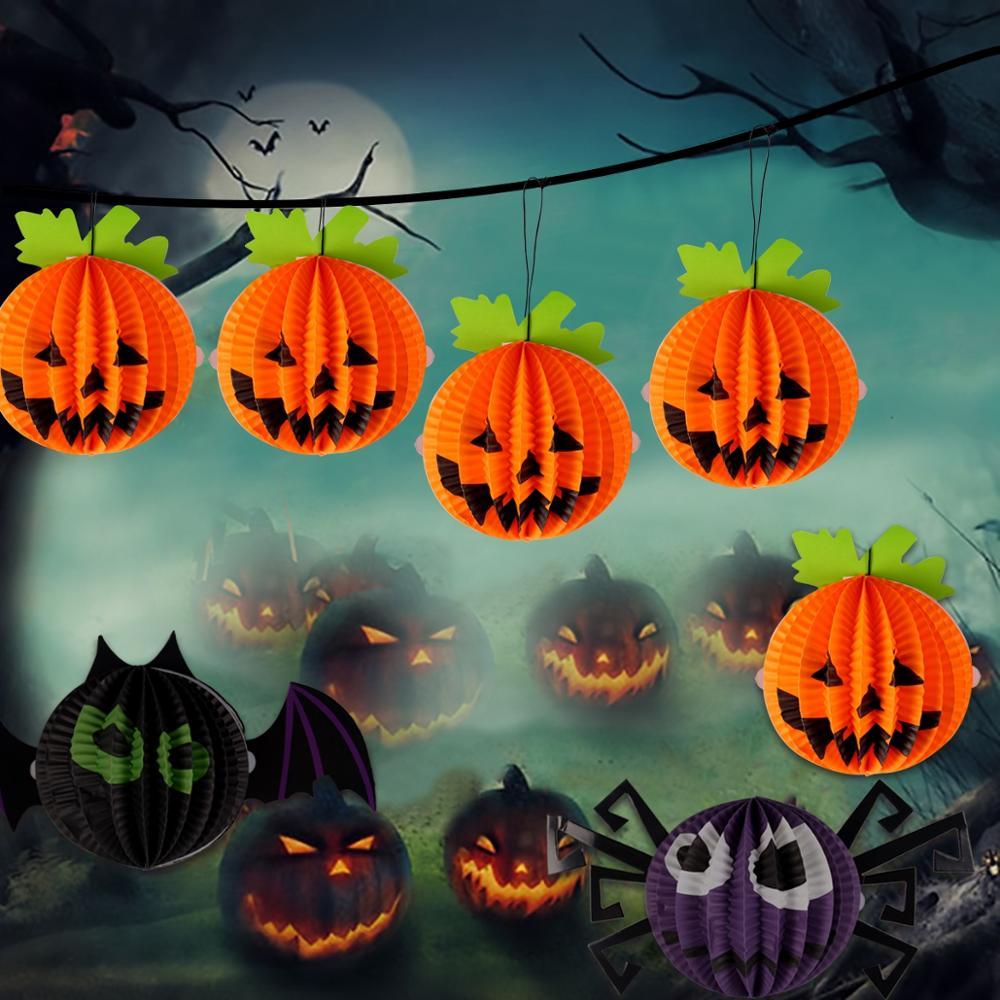 Happy Halloween Decor Set 4