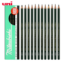 12 Pcs/Lot Mitsubishi Uni 9800 Drawing Pencils Multi grayscale pencils Writing Supplies Office & School Supplies wholesale