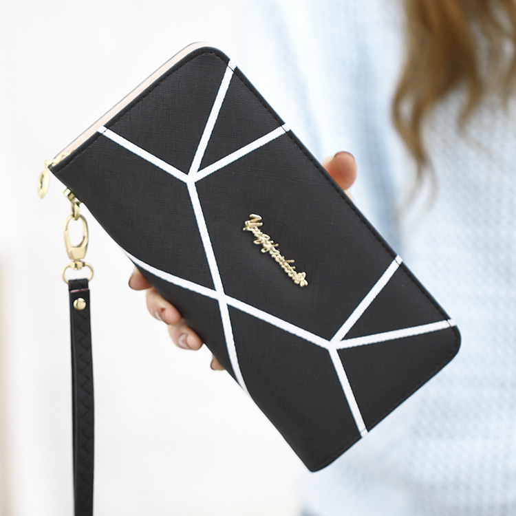 Ladies Long Zipper Wallet Multi Function Card Phone Bag Women Clutch Pink Wallets Phone Pocket Purse Card Holder Coin Bags Purse