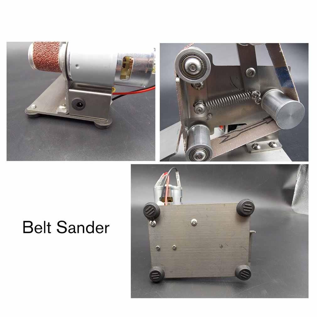 多機能グラインダーミニ電気ベルト研磨研削盤カッターエッジ削りベルトグラインダーサンディング販売