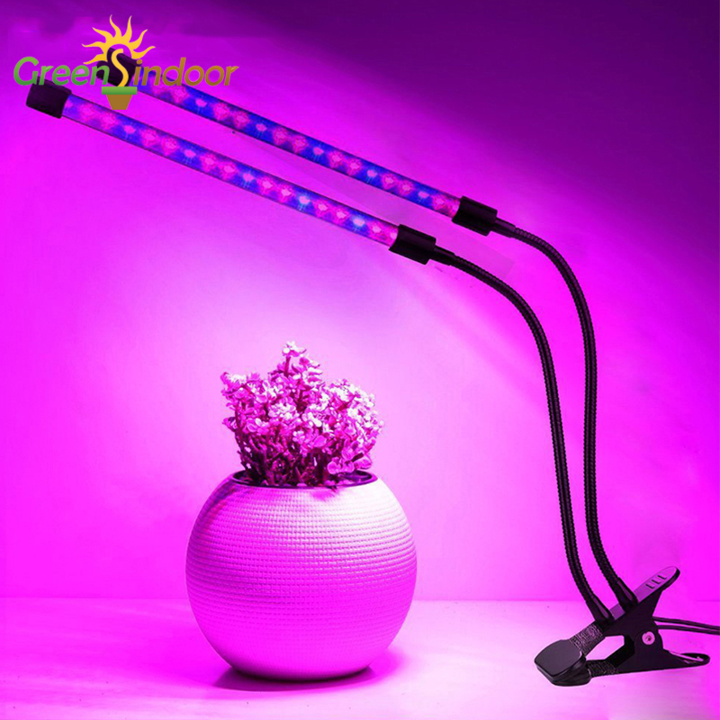 Lamp For Plant Fitolamp LED Grow Light Full Spectrum 9/18/27W Led Plant Seeds Growing Lamps Flexible Strip Indoor Plants Lights