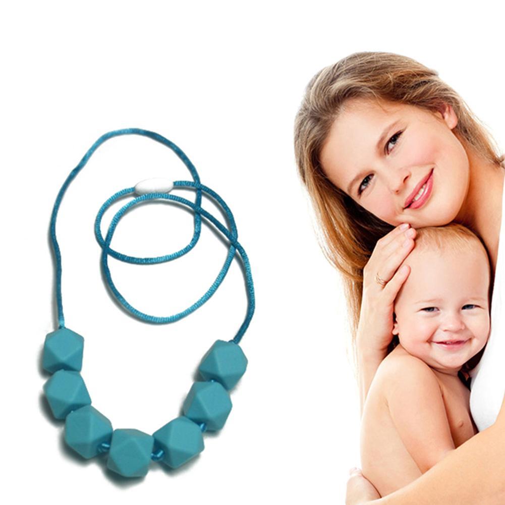 1pcs Baby Teether Molars Food Grade Silicone Chews Teeth Grinding Bead
