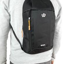Unisex Black Camping Cycling Hiking Mini Backpack
