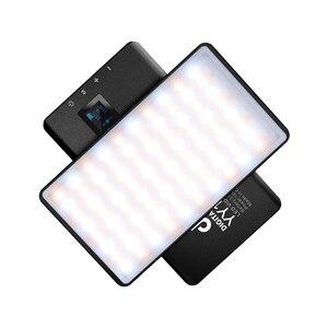 Image 4 - DigitalFoto YY135 RGB LED 2500 8500K Legierung Shell RGB Video LED Panel Licht Builtin Batterie für vlogging video DSLR YouTube live
