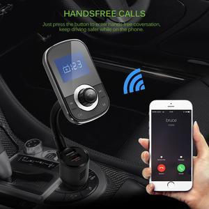 Горячая Onever беспроводной Bluetooth Hands-Free телефон FM передатчик модулятор MP3 стерео аудио плеер Автомобильный комплект USB зарядное устройство ада...