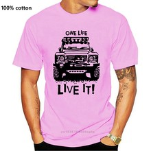 T-shirt homme à manches courtes et imprimé, 90 110, One Life Live it Off Road