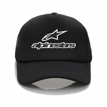 Alpine star Printed baseball cap men Women cool Summer Mesh Trucker cap