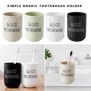 Organizer Toothbrush-Holder Washing-Cup Storage Good-Morning Bathroom Plastic Travel