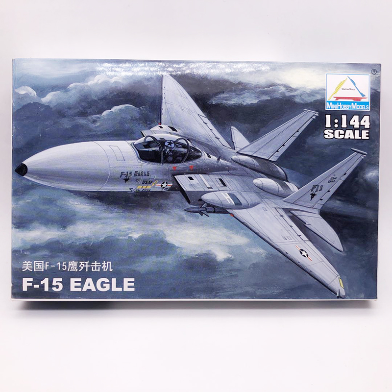 1: 144 USA Air Force F - 15 Eagle Fighter Military Aircraft Assembled Model Fighter
