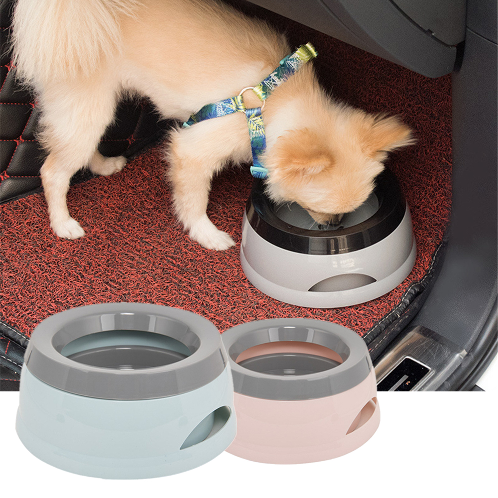 New Splash-proof Pet Bowl Dog Water Bottle For Vehicle Use Portable Drinking Bowls Feeding Water Dispenser Pet Dog Accessories