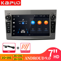 Kapud 2 Din 7Android9.0 Car Dvd GPS Multimedia Radio Player For Astra Meriva Vectra Antara Zafira Corsa Vauxhall Vivaro Combo