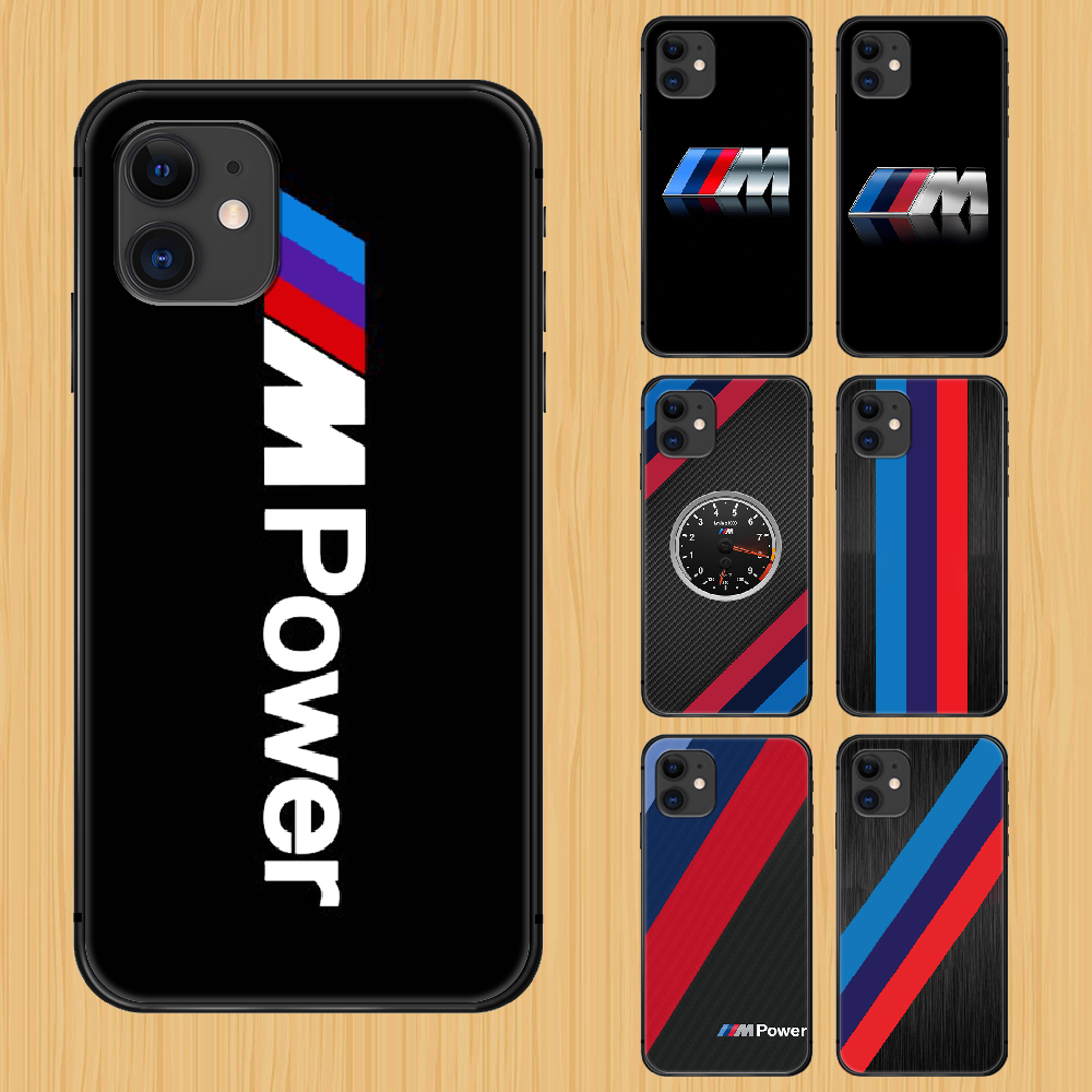 Bmw car logo Phone Case Cover Hull For iphone 5 5s se 2 6 6s 7 8 plus X XS XR 11 PRO MAX black bumper soft funda 3D waterproof image