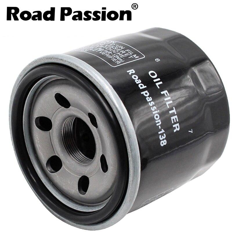 Road Passion Filtro de aceite para SUZUKI GSXR750 50TH ANN EDITION 750 2014 GSXR750 1988-2015 GSXR750 SLING SHOT 750 1988-1991 GSXR750W 1994 GSXR750W 1993-1995