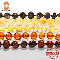 Baltic natural Amber beads lituania for Baby Adult Certified Authenticity teething polished Amber necklace Bracelet Ship from US