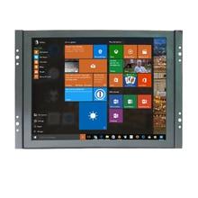 Gratis Verzending 8 Inch 4:3 Kleine LCD Kleur Video Monitor Scherm 1024x768 VGA BNC HDMI Ingang voor PC CCTV Home Security