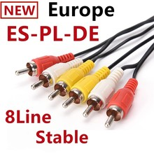 24M Europe lines 8 Lineas for PL ES DVB-S2 V8 NOVA V9 Super V7 S2X ccam oscam