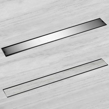 Linear ChannelFloor Drain Gate 60cm 80cm 100cm 120cm SUS304 Stainless Steel Deodorization Type Long Shower Floor Drain