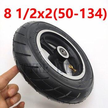 8 1/2x2 (50-134) Inenr i zewnętrzna opona z piastą/obręczą 8.5x2 opona pneumatyczna koła do części elektrycznych skuterów INOKIM Night Series