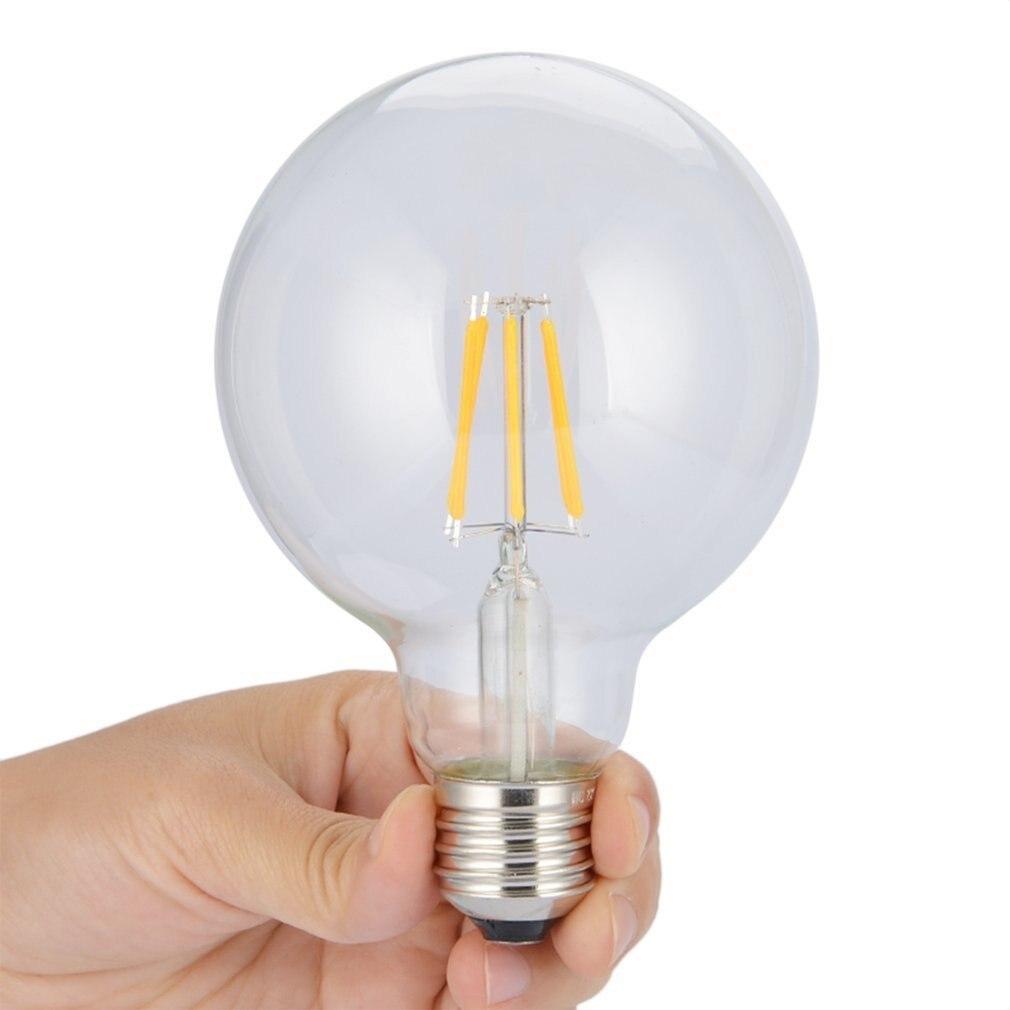E27 LED Edison Bulb 4W Antique Retro Vintage Globe Lamp Filament Pendant Glass Light Imitation Tungsten Vintage Bulbs