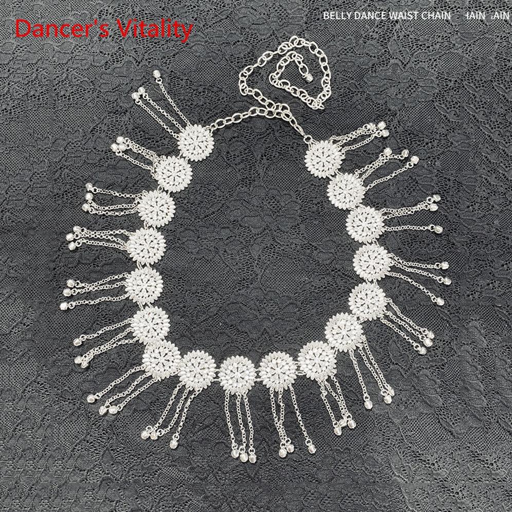 Bellydance Costume Belly Dance Fashion Women Diamond Chain Women's All-match Decoration Rhinestone Waist Belt