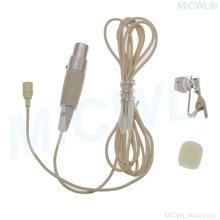 Мини 3pin xlr зажим для галстука петличный микрофон akg samson