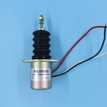 AM124379 12V Fuel Shut off Solenoid for John Deere 415 425 455 F915 F925 F935