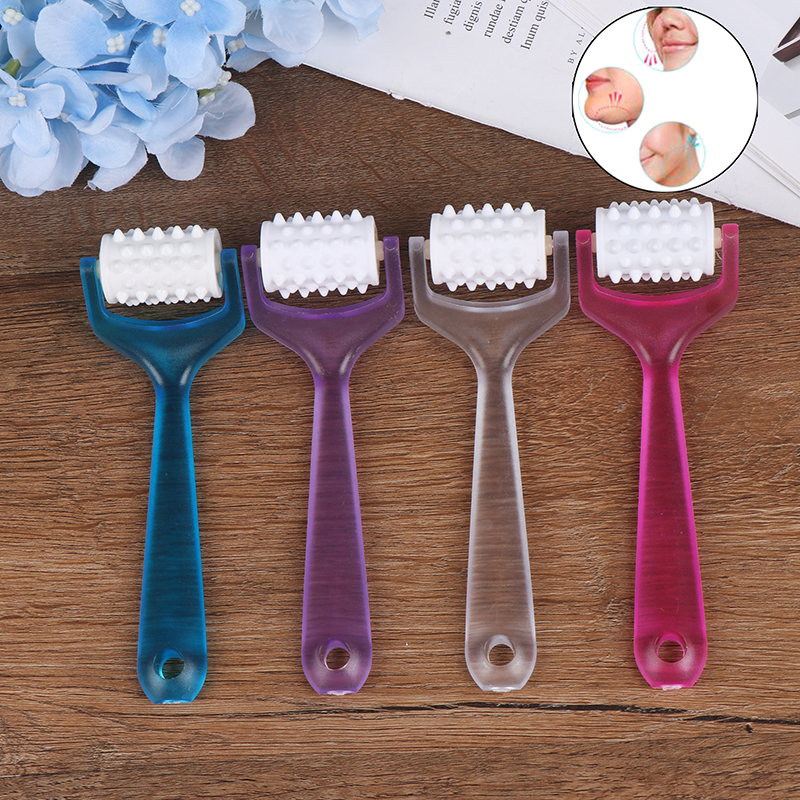 4 Colors Finger Roller Massager Roller Face-lift Massager Face Shaper Relaxation Mini Finger Massager Bueaty Body Slimmer Tool