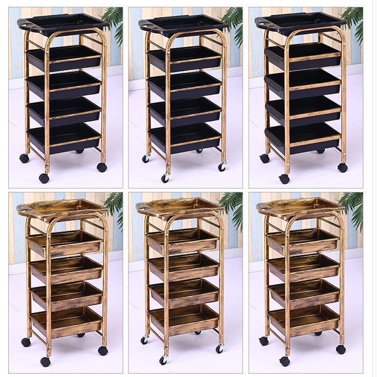 Hair Salon Cart Hairdressing Tool Cart Beauty Cart Barbershop Cart Hairdressing Bar Cart