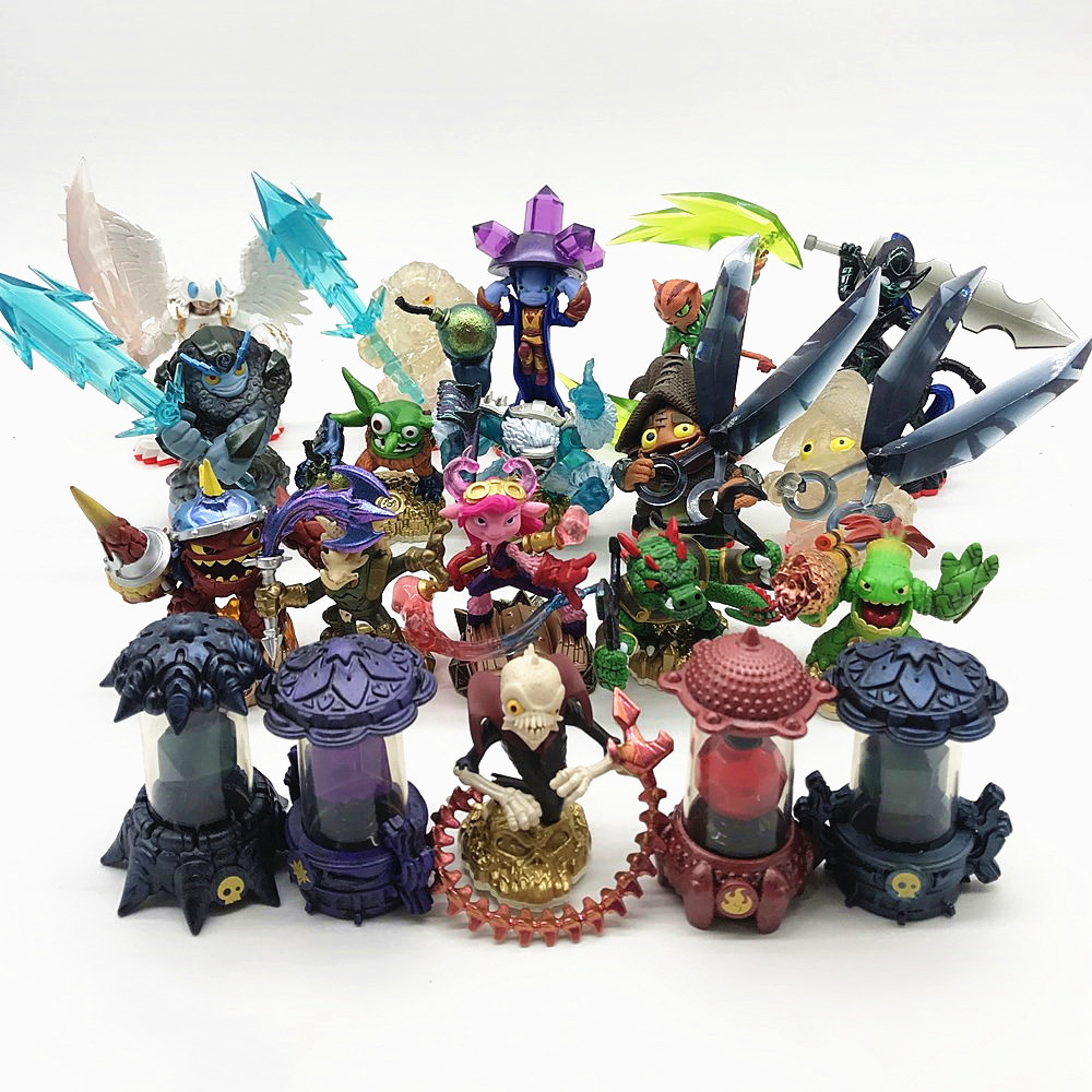 Skylanders Spyro's Adventure Collect Team Tree Man Dragon Lightning Rod Action Figure Model Collection Toys For Kids