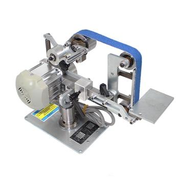 Belt Machine with Brushless Motor 762x25MM Belt Sander Polisher Sharpener Polishing Grinding Machine Fixed Angle Open V