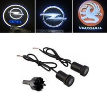 LED Car Door Courtesy Laser Projector Logo Light For Opel Insignia Astra H G J Corsa D C B Zafira B Vectra C B Mokka Omega 2020