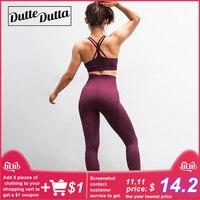Women's Sports Suit Female Sportswear For Woman Gym Fitness Clothing Women Sport Wear Clothes Sporty 2 Piece Yoga Set Leggings