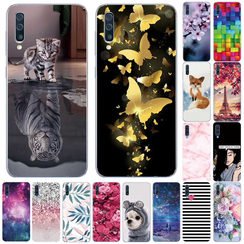 Silikon Lembut TPU Case untuk Samsung Galaxy A10 A20E A30 A40 A50 A60 A70s Case Belakang untuk Samsung A10S A30S a40S A50S Penutup Telepon