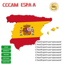 Free test Cccam Espa A offer Server 1 Year Receptor Satelite Poland Portugal Germany Europa Spain(China)