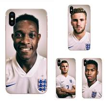 Soft TPU Cases Cover World Cup England Team For Galaxy Grand A3 A5 A7 A8 A9 A9S On5 On7 Plus Pro Star 2015 2016 2017 2018(China)