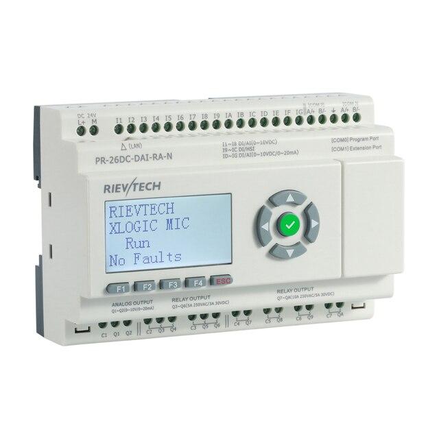 Nouveau PLC Ethernet MQTT, industrie 4.0 pour PR-26DC-DAI-RA-N de relais programmable de contrôle IIoT
